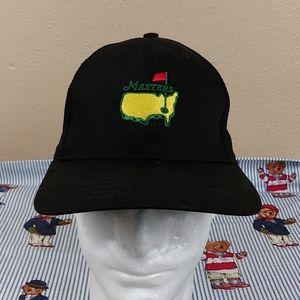 Black golf Masters hat